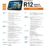 i-bit.ch Xplore XSLATE R12 Datenblatt Deutsch