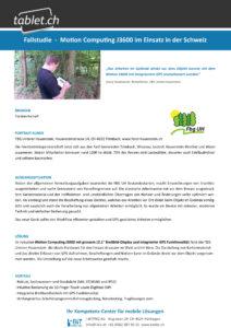 i-bit.ch Forstwesen Fallstudie tablet.ch Motion J3600