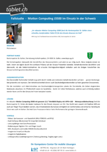 i-bit.ch Kantonspolizei St. Gallen Fallstudie tablet.ch Motion J3500