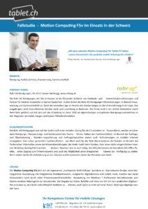 i-bit.ch Rohr AG Reinigungen Fallstudie tablet.ch Motion F5