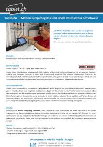 i-bit.ch Stiebel Eltron Fallstudie tablet.ch Motion R12
