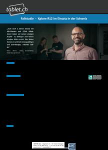 i-bit.ch: HSB Fallstudie tablet.ch Xplore R12